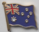 Australia Country Flag Enamel Pin Badge